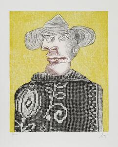 Enrico Baj, 'Portrait 3 from Baj Chez Picasso', 1969