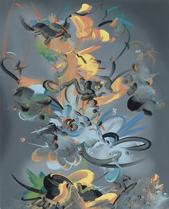 Fiona Rae, 'Figment 2a', 2015