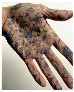Ni Haifeng, 'Self-Portrait as Part of the Porcelain Export History 5 - hand', 1999-2001