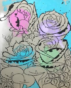 Scott Kilgour, 'Roses and Calla Lilies', 2019