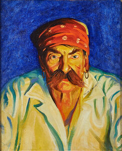 Gerrit Albertus Beneker, 'Untitled (Pirate)', 1914