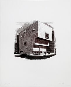 Richard Haas, 'The Whitney (Marcel Breuer Building)', 1979