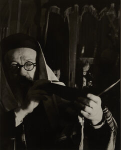 Arnold Eagle, 'Blowing the Shofar', ca. 1935