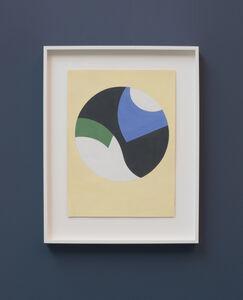 Sophie Taeuber-Arp, 'Komposition in einem schwarzen Kreis,', 1937-1939