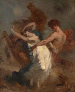 Jean-François Millet, 'The Abduction of the Sabine Women', 1844-1847