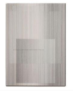 Yu Yang  于洋 (b. 1979), 'White Grey Geometric Abstract', 2018