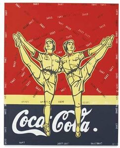 Wang Guangyi 王广义, 'Great criticism - Coca-cola', 2005