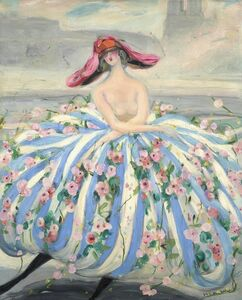 Jacqueline Marval, 'La Danseuse de Notre Dame', 1921