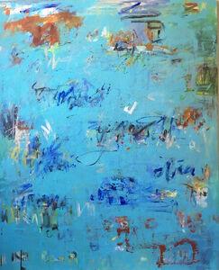 Brigitte Wolf, 'Rhapsody in Blue', 2019