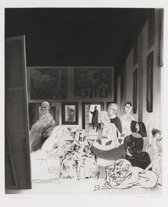 Richard Hamilton, 'Picasso's Meninas', 1973