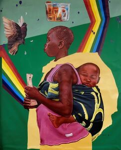 Kwesi Botchway, 'hope in struggles', 2018