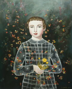 Anne Siems, 'Boy with Calendula', 2017