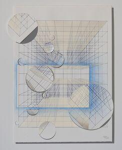 Tsuyoshi Hisakado, 'Documentize -geometric intervention #3-', 2017