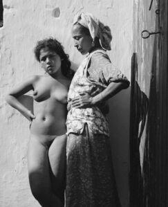 Hector Acebes, 'Casablanca Red-light District, Morocco', 1948