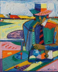 Roland Petersen, 'The Striped Tie'