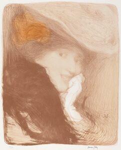 Edmond Aman-Jean, 'La Rieuse: Madame Albert Besnard', 1897