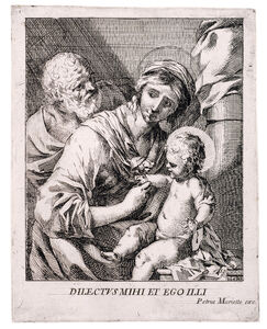 Sébastien Bourdon, 'The Virgin of 1649', 1649