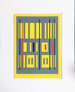 Burton Wasserman, 'Construction Concept', 1967
