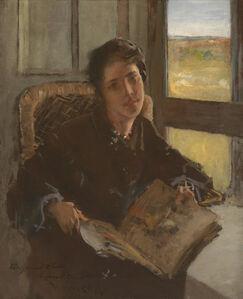 William Merritt Chase, 'Alice Dieudonnee Chase, Shinnecock Hills (the artist's daughter)', 1902