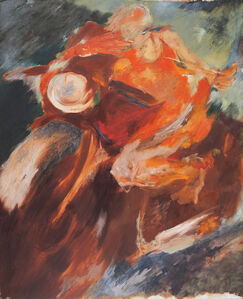 Krishen Khanna, 'Rider', ca. 1960