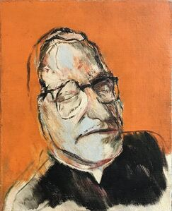 R. B. Kitaj, 'Monseigneur Ungar', 1958