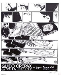 "Guido Crepax, 'From ""Valentina"" to ""O""', 1976"