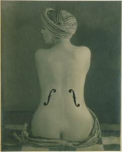 Man Ray, 'Le Violon d'Ingres', 1924