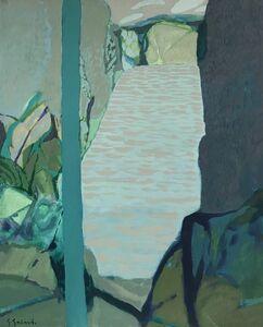 Gabriel Godard, 'Trouée sur la riviére', 1979