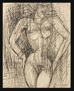 Marcel Gromaire, 'Nu Debout', 1951