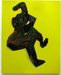 Miroslav Pomichal, 'Green Figure', 2014