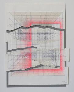Tsuyoshi Hisakado, 'Documentize - geometric intervention #1-', 2017