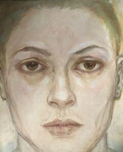 Eliza Griffiths, 'Golden Head No 1', 1999
