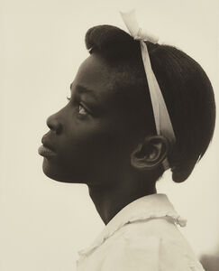 Consuelo Kanaga, 'Profile of a Young Girl from the Tennessee Series', 1948