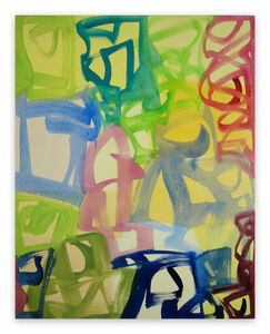 Melissa Meyer, 'Vernal (Abstract Expressionism painting)', 2008