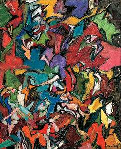 Amaranth Ehrenhalt, 'Jagged Edge', 1959