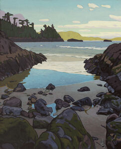 Clayton Anderson, 'Cove Near Wickaninnish', 2017