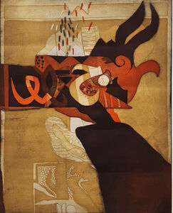 Dia Azzawi, 'Improvisation', 1984