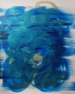 Udi Cassirer, 'Gold & Blue II', 2020