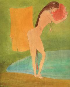 Abdur Rahman Chughtai, 'Untitled ', .
