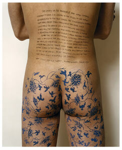 Ni Haifeng, 'Self-Portrait as Part of the Porcelain Export History 7 - Front hips', 1999-2001