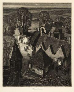 Robin Tanner, 'Christmas', 1929/1974