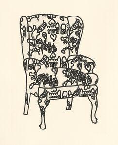 Humphrey Ocean, 'Love Chair', 2006