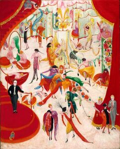 Florine Stettheimer, 'Spring Sale at Bendel's ', 1921