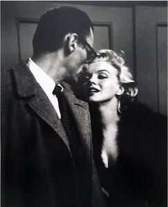 "Henri Dauman, 'Marilyn Monroe & Arthur Miller at private Showing of ""Some Like It Hot,"" 1959'"