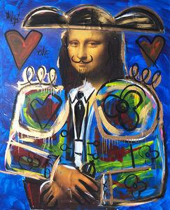 Domingo Zapata, 'Mona Lisa', 2019