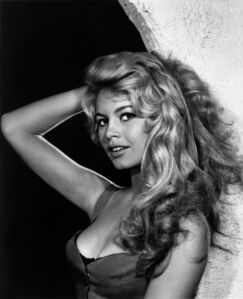 Yousuf Karsh, 'Brigitte Bardot', 1958