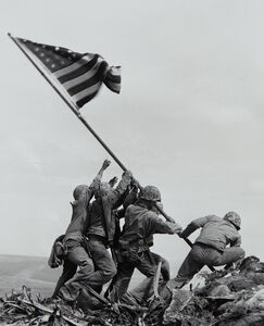 Joe Rosenthal, 'Flag Raising at Iwo Jima', 1945-printed 1995