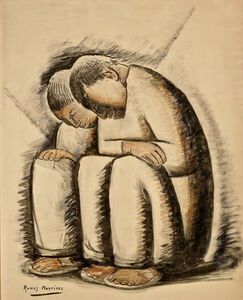 Alfredo Ramos Martínez, 'End of the Day', ca. 1941
