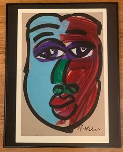 Peter Robert Keil, 'Untitled Face', Unknown