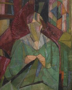Vanessa Bell, 'Portrait of Molly MacCarthy', 1914-1915